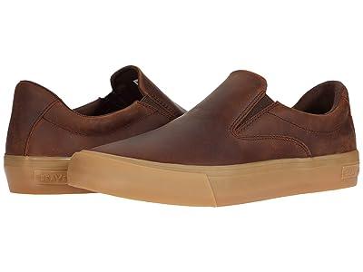 SeaVees Hawthorne Slip-On Rugged Oil Leather (Kona) Men
