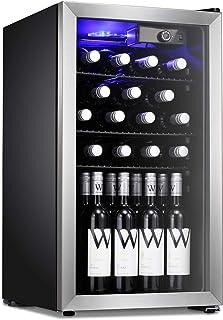 Antarctic Star 26 Bottle Wine Cooler/Cabinet Beverage Refigerator Mini Fridge Small Wine Cellar Soda Beer Counter Top Bar ...