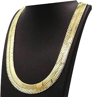 Best gold herringbone chain for sale Reviews