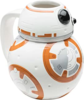 Zak Designs SWRH-9537 Coffee Mug, 12 oz, Star Wars Ep7 BB8