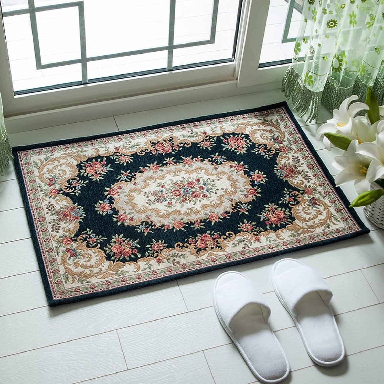 Water-Absorbing mats Door Foot mat Kitchen Bathroom mat Indoor mats-D 80x120cm(31x47inch)