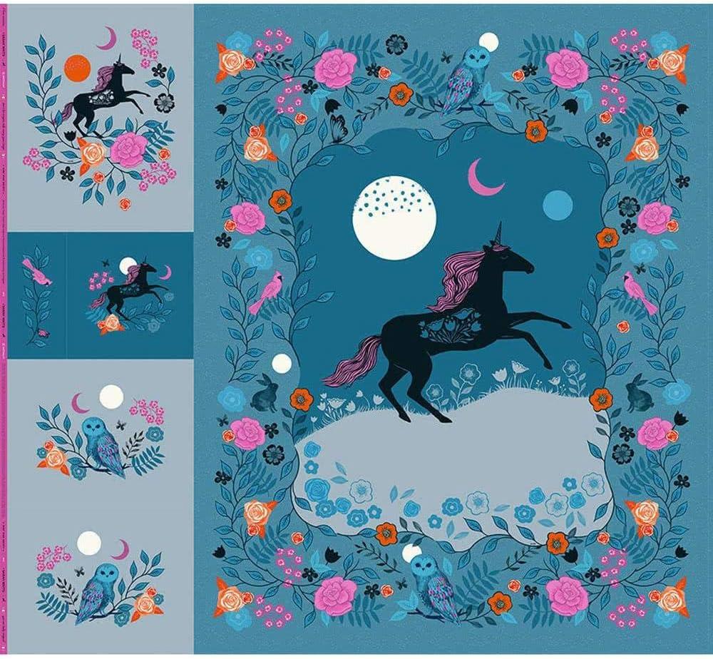Sarah Watts free shipping Crescent Magic Unicorn New popularity 1 Panel 99-inch R by 108-inch