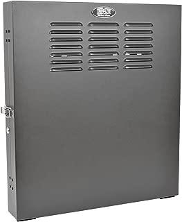 Tripp Lite 2U Vertical Wall Mount Rack Enclosure Cabinet, Low Profile, Switch Depth, 20