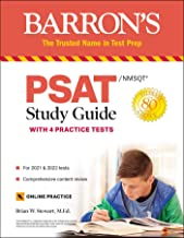 PSAT/NMSQT Study Guide: with 4 Practice Tests (Barron's Test Prep)