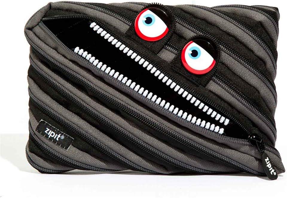 Sale price ZIPIT Wildlings Big Pencil Case black Bag jumb Recommendation Makeup Cosmetic