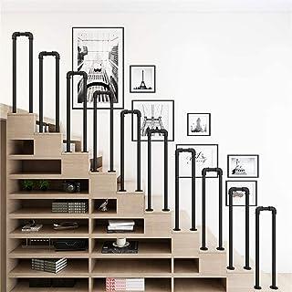 1 poręcz schodowa/czarna poręcz wodociągowa/schody bary wille dom wiejski balustrady tarasowe/poręcz bezpieczeństwa w kszt...