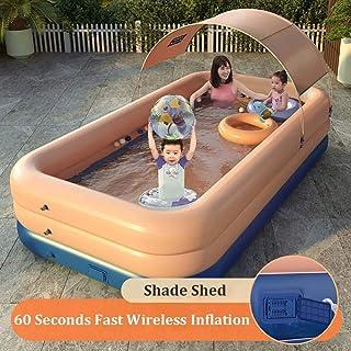 Amazon.es: piscina hinchable rectangular pequeña