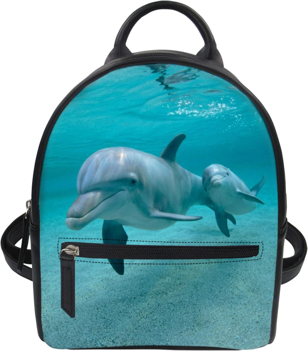 PZZ BEACH Anti-Scratch Fees free PU Leather Wom Backpack for Shoulder Mini Sale price