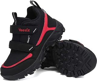 Voovix Bottes de Neige d'hiver Enfants Chaussures de Randonnée Garçon Fille Chaud Antidérapant Léger Chaussures de Course ...