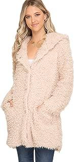 she and sky faux fur jacket