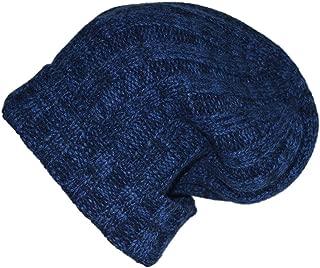 Women's Men's 100% Cashmere Beanie Ribbed Winter Knit Cap