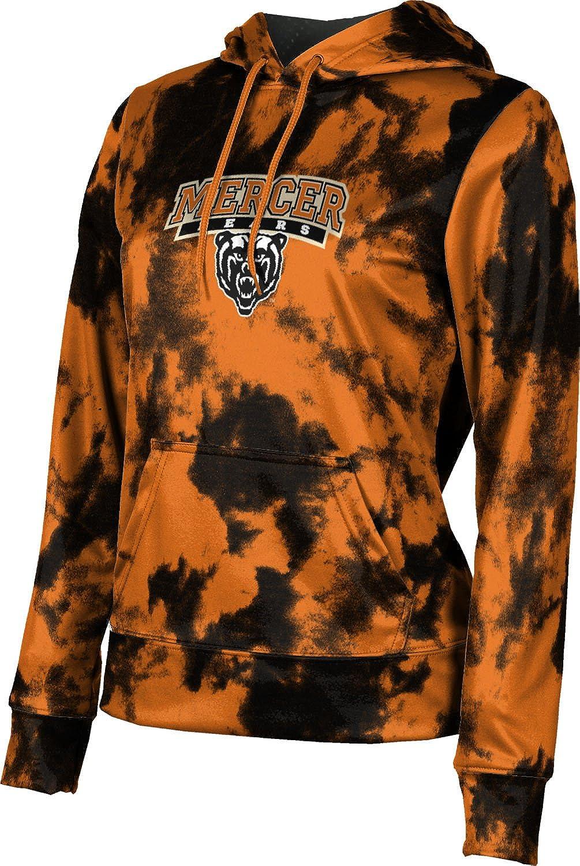 ProSphere Mercer University Girls' Pullover Hoodie, School Spirit Sweatshirt (Grunge)