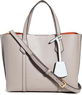 Tory Burch Womens Tote Bag, Gray Heron - 56249