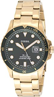 Fossil Mens Quartz Watch, Analog Display and Stainless Steel Strap FS5658