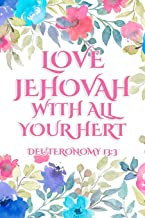 Love Jehovah With All Your Heart Deuteronomy 13:3: JW Gifts Circuit Assembly Of Jehovah's Witnesses 2019 2020 Notebook Gift | Jehovah's Witnesses Gifts. Pink