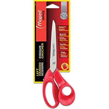 Maped Expert Scissors, Adult, 8.25 Inch, Left Handed (686549)