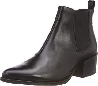 Womens Vagabond Marja Work Leather Shoes Casual Pointed Toe Ankle Boot
