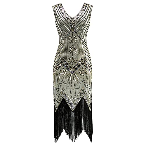 Wonderbaarlijk 1920s Charleston Dress: Amazon.com UX-38