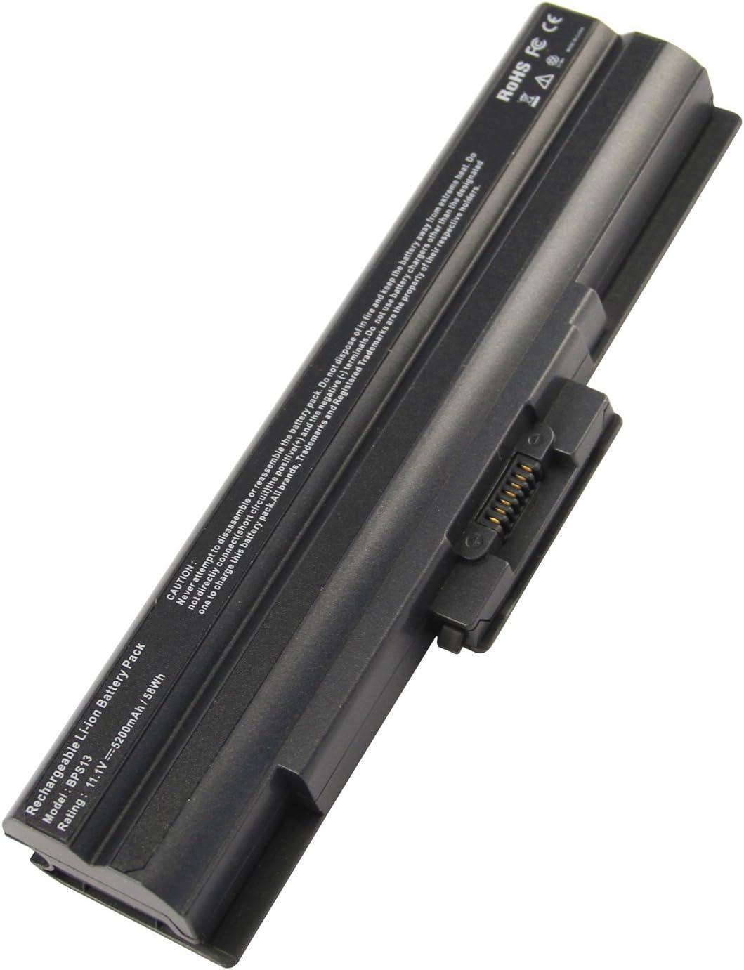 Futurebatt 5200mAh Laptop Battery for Direct sale of manufacturer Vaio VPC Sony VGP-B Series Outlet SALE