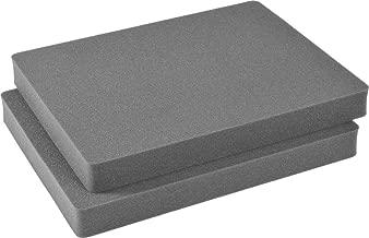 Cobra 1601 Replacement Foam Inserts Set for Pelican Case 1600 (2 Pieces) - DJI Phantom - Camera