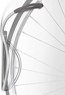 Delta Cycle Leonardo Da Vinci Single Bike Storage Rack Hook Hanger with Tire Tray for Vertical Indoor Garage ( color may v...