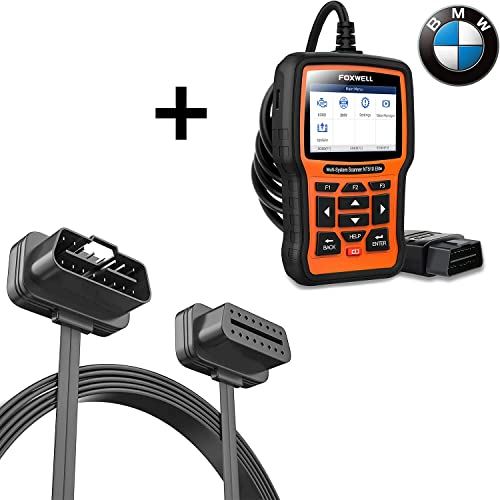 new arrival FOXWELL NT510 Elite lowest Full Systems Scanner for BMW and Foxwell outlet online sale OBD2 Extension Cable 16pin online sale