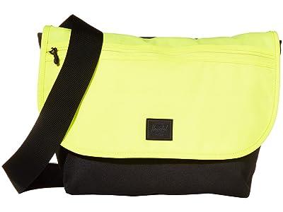 Herschel Supply Co. Grade Mid-Volume (Highlight/Black) Messenger Bags