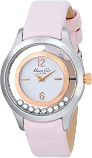 Kenneth Cole Women's KC2859 White Leather Quartz Watch