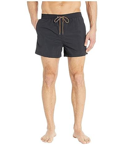Paul Smith Solid Swim Shorts (Black) Men