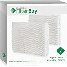 FilterBuy Vornado MD1-0001, MD1-0002, MD1-1002 Humidifier Wick Filter. Designed to fit All Vornado Evaporative Humidifiers. Pack of 2 Filters.