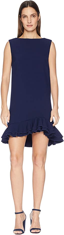 Dress with Frill Hem