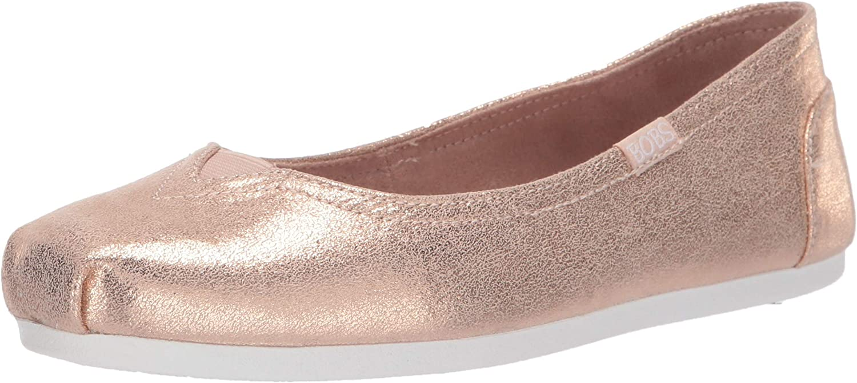 Skechers Womens Bobs Plush - Pearl Gardens Ballet Flat