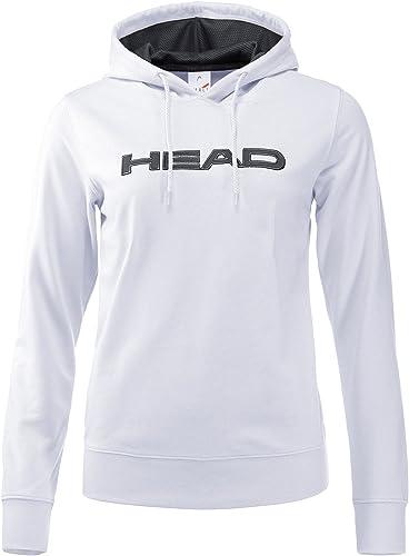 Head - Rosie Damen Tennishoodie (Weiß dunkelgrau)