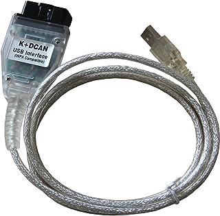 INPA Ediabas K+ DCAN USB OBD2 OBDIIカー診断ツールケーブルBMW用 [並行輸入品]