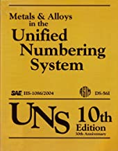Metals & Alloys in the Unified Numbering System (UNS), 10th Edition