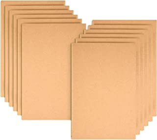 12 Pack Notebook Journals for Travelers Kraft Brown Cover Notepad, A5 Size Paper (8.25