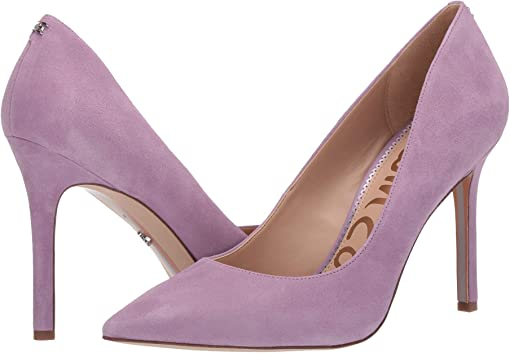 Purple Jam Suede Leather