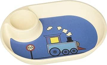 EcoBamboo Ware Chip & Dip Tray, Train, 7