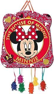 Verbetena, 014000914, piñata basic disney minnie mouse. dimensiones: 28x33 centimetros.