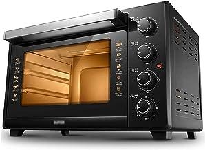 35L Mini Four et Grill - Four électrique 1600W avec Rotisserie et minuterie de 120 minutes - 6 Sélecteurs pour la cuisson,...