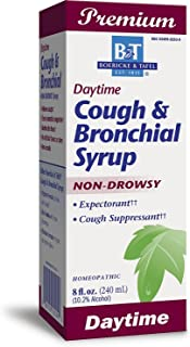 Boericke and Tafel Day Time Cough and Bronchial Syrup, 8 Ounce - 3 per case.