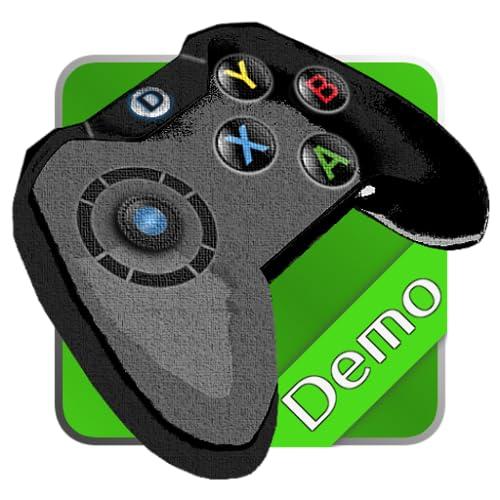DroidJoy virtual Gamepad Demo