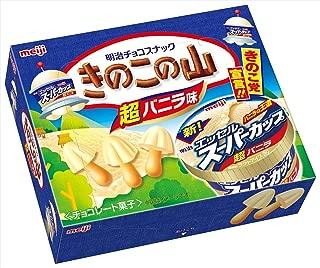 meiji KINOKO no YAMA chocolate super Vanilla flavor 64g Japan snack Dagashi
