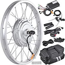 "AW 20"" Electric Bicycle Front Wheel Conversion Kit E-Bike 36V 750W Motor for 20"" x 1.75""-2.1"" Tire"