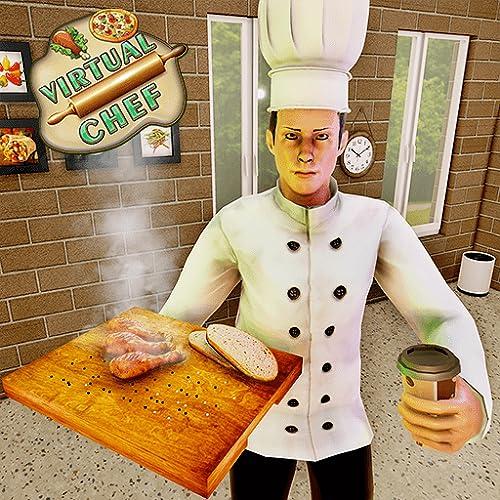 Virtual Chef Simulator Kitchen Mania Cooking Games