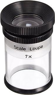 MIZAR(ミザールテック) ルーペ スケールルーペ 7倍 0.1mm目盛り RCS-5050