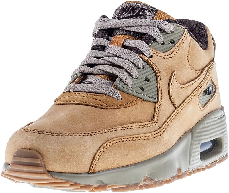 Nike - Air Max 90 Winter Premium Flax 943747 700 - Color: Brown ...