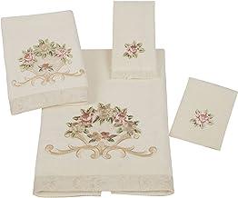 Avanti Rosefan 4-Piece Towel Set, Ivory