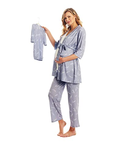 Everly Grey Analise Maternity/Nursing Mommy Me Five-Piece PJ Set (Dream) Women