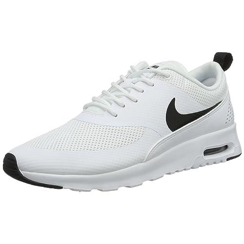 competitive price 03560 93ebc Nike Women s Air Max Thea Low-Top Sneakers, Black